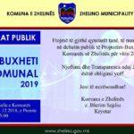 Debat publik - Buxheti Komunal