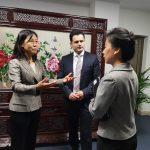 Vizitë e kryetarit të komunës së Zhelinës në Ambasadën e Kinës